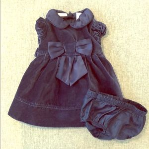 🔥BOGO 50%🔥 1st Impressions 3-6M Velvet Dress